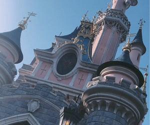 beauty, sleeping beauty, and castle image