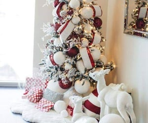 christmas, wintertime, and home decor image