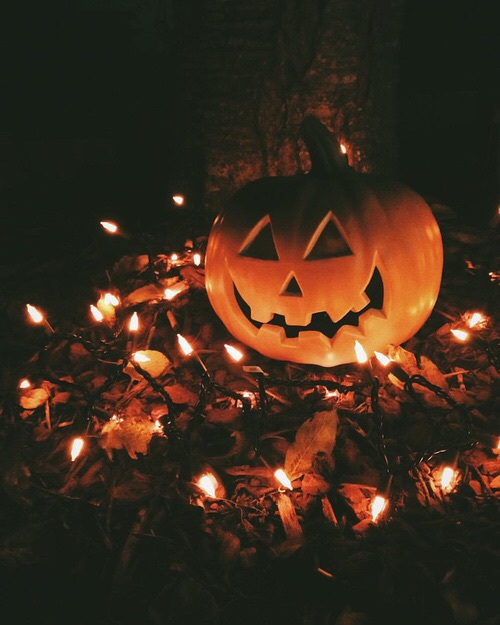 article, autunm, and Halloween image