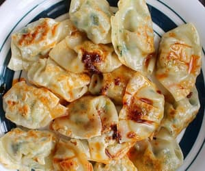 asian, delicious, and dumplings image