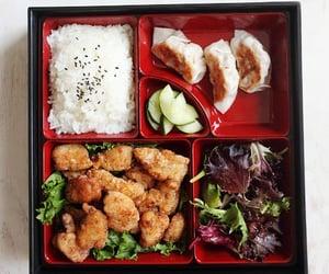 asian, food, and bento box image