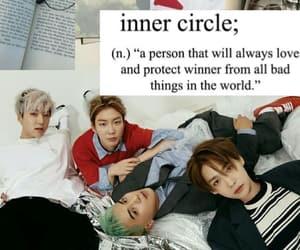 wallpaper, inner circle, and jinu image