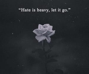 quotes, hate, and words image