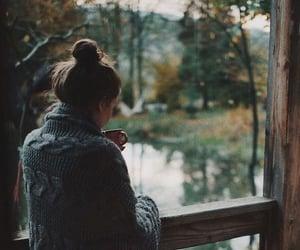 adventure, autumn, and brunette image
