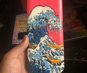 calculator, ocean, and water image