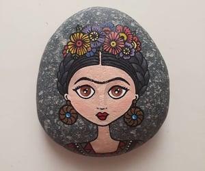 Frida Khalo and rock art image