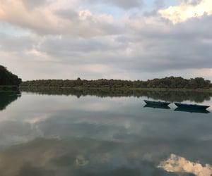 lake, postcard, and beautiful view image