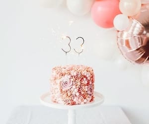 birthday, cake, and glitter image