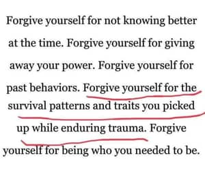 forgive, quote, and self love image
