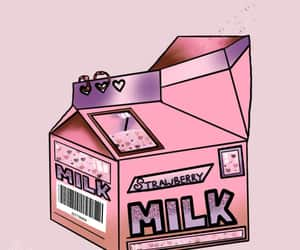 girlie, kawaii, and milk image