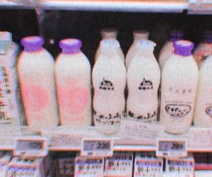 asia, japanese, and milk image