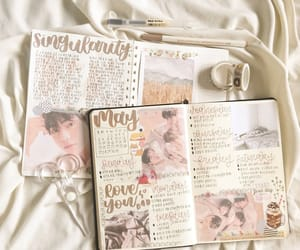 aesthetic, journal, and bulletjournal image