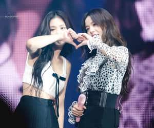 jennie, kim jisoo, and jisoo image