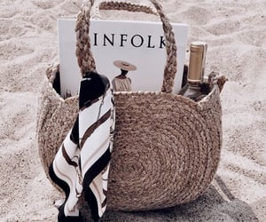 beach, summer, and fashion image