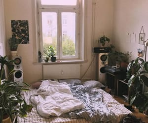 bed, bedrooms, and cosy image