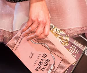 book, fashion, and pink image