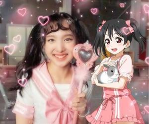 anime girl, kawaii, and cosplay image