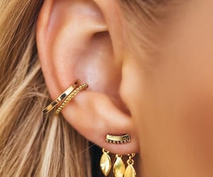 accessories, ear, and ring image