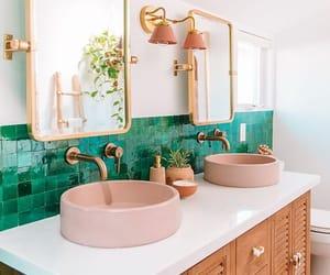 bathroom, house, and design image