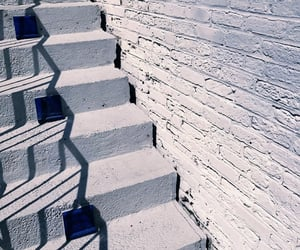 gray, grey, and stairs image