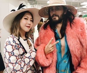 30 seconds to mars, jared leto, and gucci image