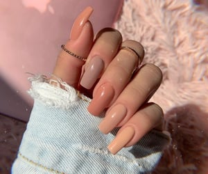 acrylics, autumn, and nails image