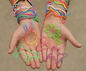 nostalgic, silly bands, and 200's image