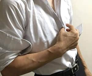 blouse, delicate, and man image