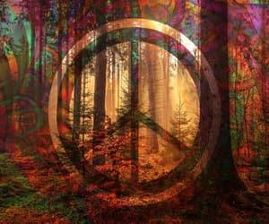 arboles, símbolo, and hippies image