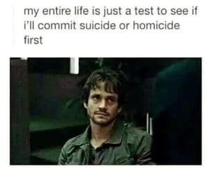 homicide, life, and suicide image
