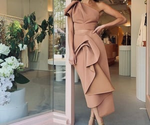 clothes, fashion, and heels image
