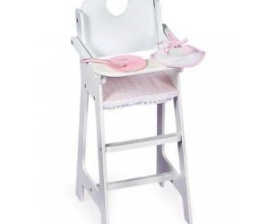plate, pink gingham, and baby product image