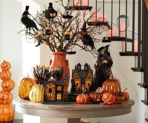 Halloween, pumpkins, and autumn image