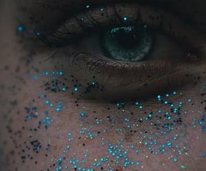 blue, eye, and blue eyes image