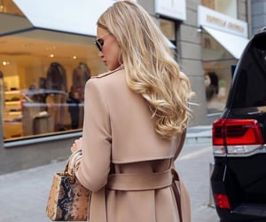 blonde, dior, and fall image