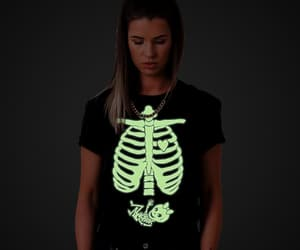 beautiful, glow in the dark, and maternity shirt image