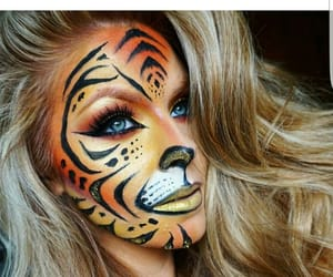 art, make-up, and body art image