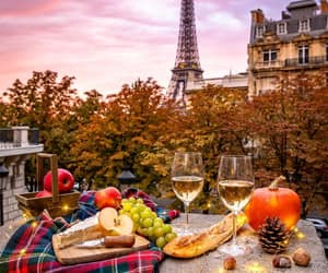 france, happy, and picnic image