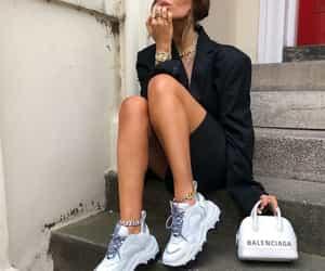 Balenciaga, look, and blogger image