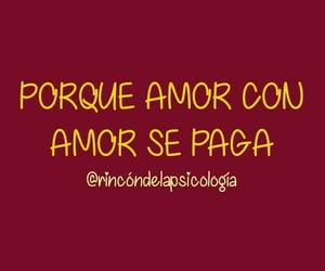 amor, love, and frases image
