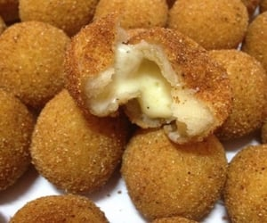 cheese, deep fried, and food image