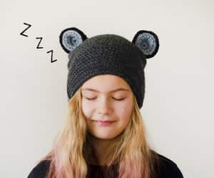 etsy, grey winter hat, and fantasy hat image