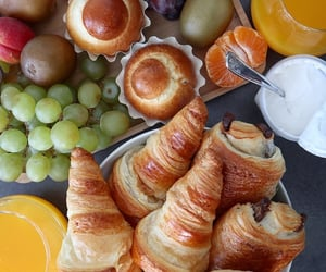beauty, breakfast, and croissants image