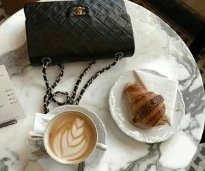 bag, drink, and coffee image