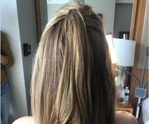belleza, hair, and melena image
