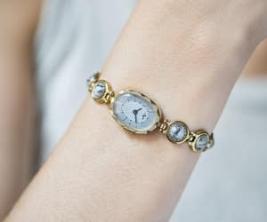 etsy, montre femme, and gold women watch image