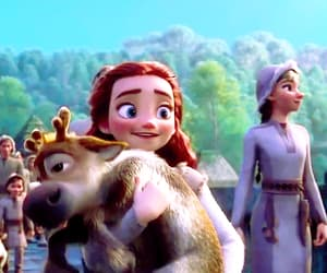 anna, frozen, and gif image