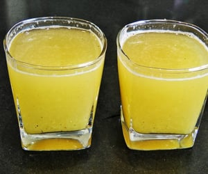 drink, soft drink, and food image