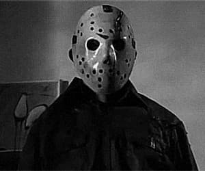 creepy, friday the 13th, and gif image