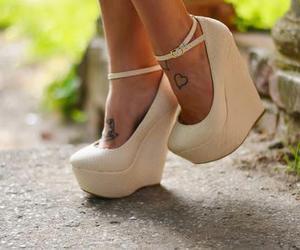 amazing, white, and heels image